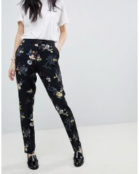 Soaked In Luxury - Floral Trousers - Lyst