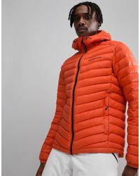 Peak Performance - Frost Down Hooded Jacket In Orange - Lyst