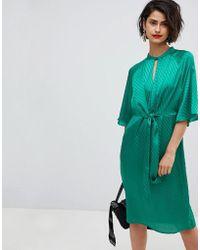 Vero Moda - Tie Front Dress - Lyst