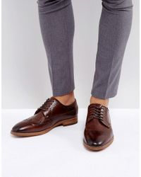 Call It Spring | Uniessi Brogue Shoes In Brown | Lyst