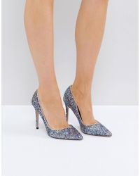 Miss Kg - Glitter Court Shoes - Lyst