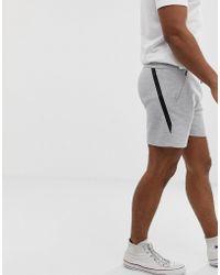 Jack & Jones - Jersey Shorts In Grey - Lyst