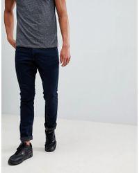 Mango - Man Slim Jeans In Dark Blue - Lyst