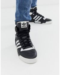 a38b7abeb3cac adidas Originals  uas Rivalry Lo  Sneakers in Black for Men - Lyst