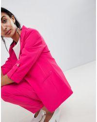 B.Young - Longline Suit Blazer - Lyst