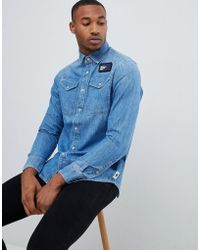 G-Star RAW - Utility Shirt Medium Aged - Lyst