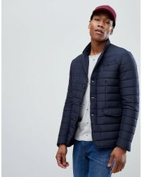 Tommy Hilfiger - Quilted Padded Blazer - Lyst