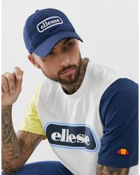 1bc6daa6 Ellesse - Jallon Baseball Cap With Panel Logo In Navy - Lyst