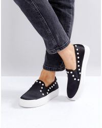 Steve Madden - Glacier Pearl Trainers - Lyst