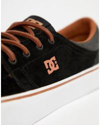 DC Shoes - Trase Se Trainers In Black - Lyst