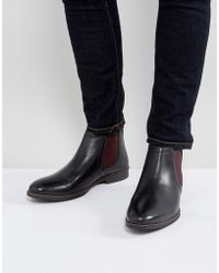 Red Tape - Chelsea Boots With Contrast - Lyst