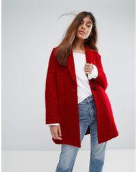 Suncoo - Wool Coat - Lyst