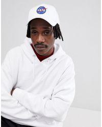 Alpha Industries | Nasa Badge Baseball Cap In White | Lyst
