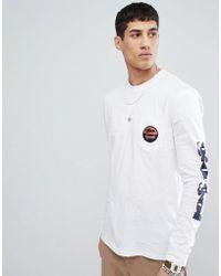 Gio Goi - Long Sleeve Top With Sleeve Print - Lyst