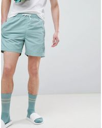 Hackett - Mr. Classic Swim Shorts In Green - Lyst