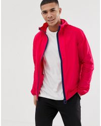 Barbour - Hooded Lightweight Jacket In Pink - Lyst