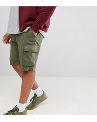 French Connection - Plus Military Cargo Shorts - Lyst