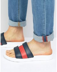 Tommy Hilfiger - Splash Sliders - Lyst