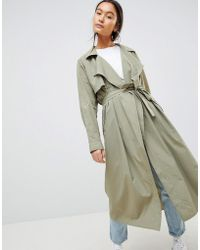 Weekday - Trench Coat - Lyst