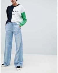 Iceberg | Oversized Flare Jeans | Lyst