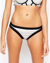 Bikini Lab - Hollogram Skimpy Bikini Bottoms - Lyst