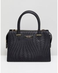 Carvela Kurt Geiger - Benny Chain Weave Structured Tote Bag - Lyst