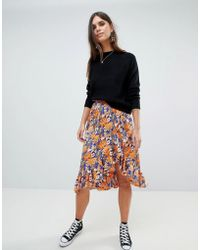 Y.A.S - Floral Printed Wrap Skirt - Lyst