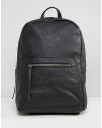 Pieces - Savoy Minimal Backpack - Lyst