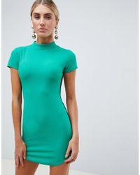 AX Paris - Striped Side Bodycon Dress - Lyst