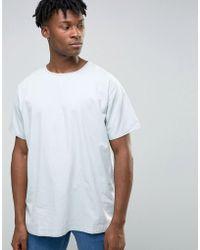 WÅVEN - Bleached Out Denim T-shirt - Lyst