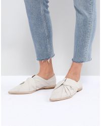 AllSaints - Knot Detail Loafer - Lyst