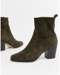 ASOS - Rodeo Western Ankle Boot - Lyst