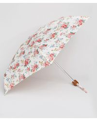 Cath Kidston | Tiny 2 Spray Flowers Cream Umbrella | Lyst