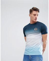 Hype - T-shirt moulant dlav effet mouchet - Lyst