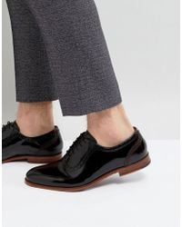 Ted Baker - Anice Patent Oxford Brogue Shoes - Lyst