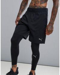 PUMA - Men's Colorblocked Shorts - Lyst