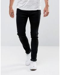 Bellfield - Skinny Jeans In Black - Lyst