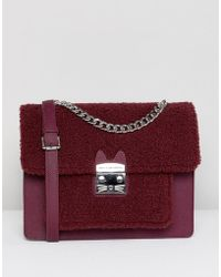 Paul & Joe - Sister Shearling Shoulder Bag - Lyst