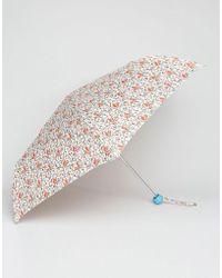 Cath Kidston - Minilite 2 Squirrels Ivory Umbrella - Lyst