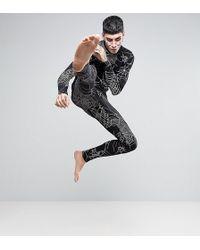 ASOS - Halloween Pyjama Set With Spider Web Print - Lyst