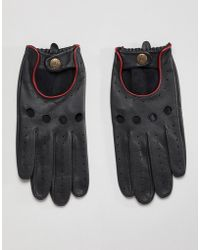 Dents - Delta Leather Driving Gloves - Lyst
