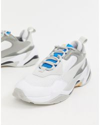 afe0d3db0e9 Lyst - PUMA Thunder Electric Trainers In White 36799601 in White for Men