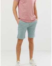 Superdry - Chino Shorts In Light Green - Lyst