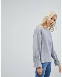 NYTT - Flared Sleeve Top - Lyst