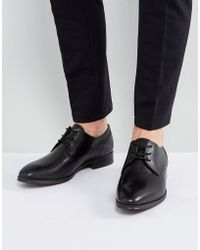 ALDO - Lauriano Derby Leather Shoes In Black - Lyst