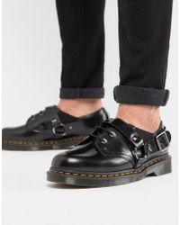 Dr. Martens - Zapatos negros Fulmar de - Lyst