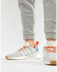 6b93f1876878 adidas Originals - Nmd R2 Boost Summer Sneakers In White Cq3080 - Lyst