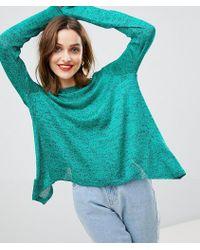 Vero Moda - Knitted Jumper With Split Back - Lyst