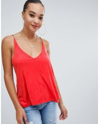 Missguided - Suedette Cami Top - Lyst