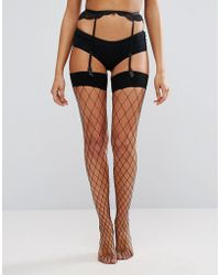 Ann Summers - Large Fishnet Stocking - Lyst